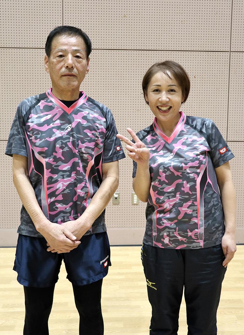チャンピオン 斉藤秀人・石川清美選手(Twinkle )